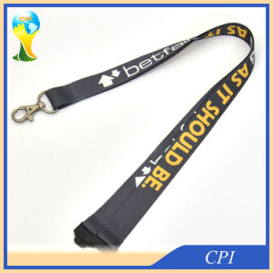 Touch Smoothly Sublimation Lanyard with Metal Hook pictures & photos