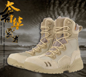 Hot Selling 2017 Military Combat Boots for Policeman pictures & photos