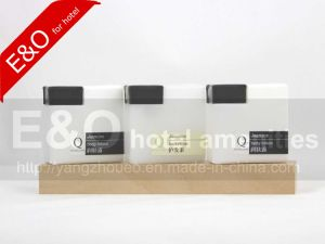 5 Star Disposable Hotel Shampoo/Bath Foam/Conditioner/Body Lotion Bottle pictures & photos