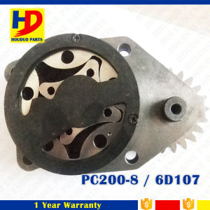 Oil Pump 6D107 for PC200-8 Excavator (6754-51-1100) pictures & photos