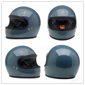 Full Face Motocross Fiberglass Helmet for Motorcycle. pictures & photos