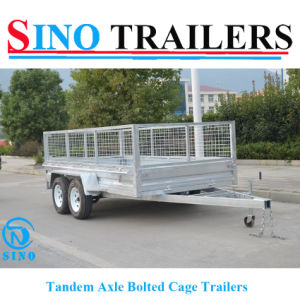 Dual Axles Sino 9*6 Furniture Trailer