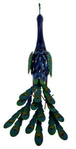 Metal Peacock Animal Shape Garden Home Decoration Solar Light Crafts pictures & photos