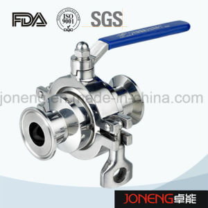 Stainless Steel High Purity Pneumatic Two Way Ball Valve (JN-BLV1006) pictures & photos