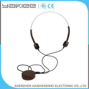 3.7V 350mAh Bone Conduction Wired Stereo Headphone Headset Hearing Aid pictures & photos