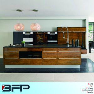 Laminate Kitchen Wood Cupboard Design pictures & photos