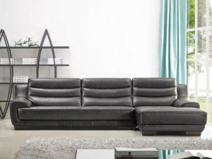 European Modern L Shape Sectional Leather Sofa (Corner sofa) pictures & photos
