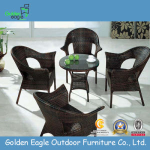 Modern Outdoor Rattan Dining Set