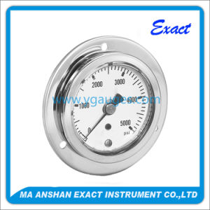 Standard Liquid Filled /Oil-Filled All Stainless Steel Pressure Gauge pictures & photos