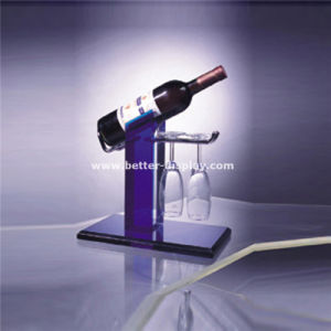 Clear Acrylic Wine Display Stand Unit Btr-D2001 pictures & photos