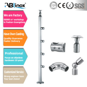 Ablinox Hot Sale Stainless Steel Glass Fitting Cc104 pictures & photos