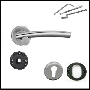 Different Types Industrial Cheap Price Door Handles with Locks pictures & photos