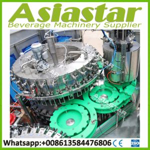 Automatic Glass Bottle Washing Filling Capping Packing Machine for Beer pictures & photos