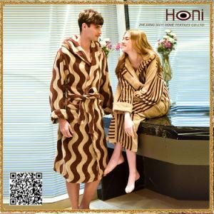 D-012 Newest Design Couple Bathrobe pictures & photos