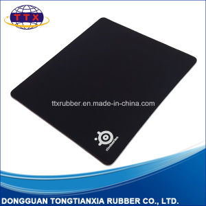 Customized Rectangle Non-Slip Rubber Gaming Black Mouse Pad pictures & photos