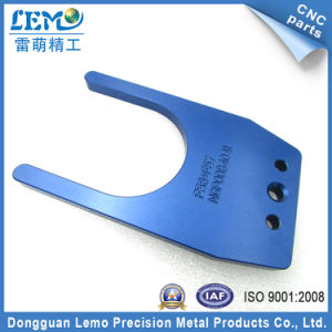 Blue Anodizing Custom CNC Milling Parts with Laser Marking (LM-2887) pictures & photos