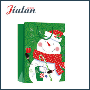 Custom 4c Printed Christmas Gift Packaging Paper Shopping Gift Bags pictures & photos