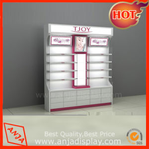 Cosmetic Display Shelf Cosmetic Display Cabinet pictures & photos