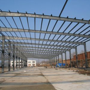 Light Structural Steel Building with Parapet Wall pictures & photos