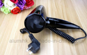 Hotel Equipment Folding 1200W Hairdryer Hotel Foldable Hair Dryer pictures & photos