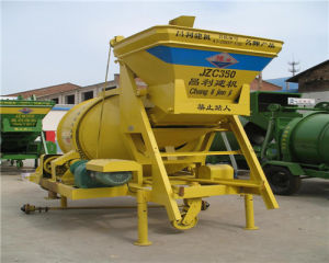 Jzc350 Mini Electric Motor Cement Mixer, Mini Mixer Concrete pictures & photos