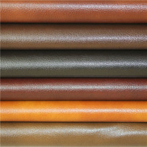 Quality Assurance Embossed PVC Synthetic Leather for Modern Furniture Sofa pictures & photos