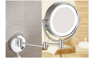 LED Cosmetic European Mirror, Folding Double-Side Wall Mounted Bathroom Mirror pictures & photos