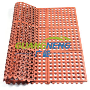 High Quality Oil Resistance Rubber Mat/Interlocking Anti Slip Rubber Mat/Anti-Slip Kitchen Mats/Bathroom Anti-Fatigue Rubber Flooring pictures & photos