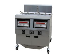 Gas Open Fryer Ofg-322 (Double Tank) pictures & photos
