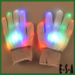 2015 Multi Colors LED Finger Light Gloves, Flashing Finger Ring LED Light Toy, Party Decoration LED Gloves with LED Light G15A103 pictures & photos