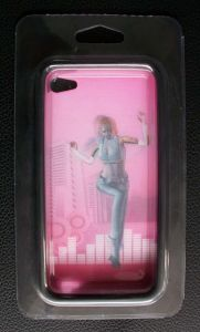 Pink Newest Mobile Phone Stickers with 3D Effect pictures & photos