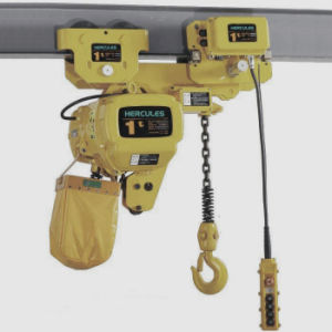 20t Electric Chain Hoist Fixed with Hook pictures & photos