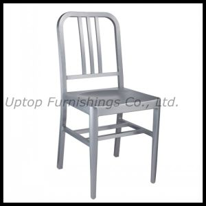 Colored Aluminum Armless Library Dining Chair (SP-OC625) pictures & photos