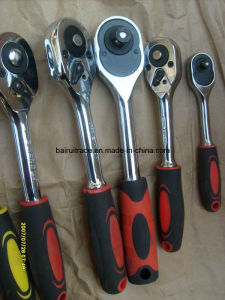 Quick Release Ratchet Socket Wrench with Handle pictures & photos