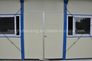 Container House Mobile Prefabricated Home in Construction Site pictures & photos