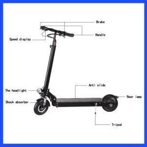High Pressure Push Self Balance Scooter Kickboard for Adult pictures & photos