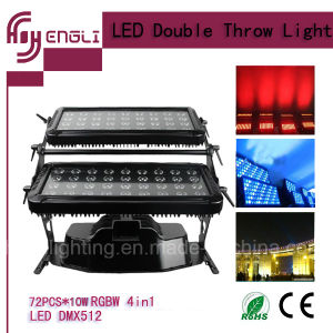 72PCS*10W 4in1 LED Stage Light with CE & RoHS (HL-023) pictures & photos
