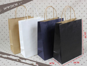Custom Printing Clothes Packing Promotional Paper Bags pictures & photos