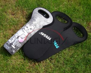 Tote Bag, Top Quality Insulated Neoprene Wine Bottle Cooler (BC0058) pictures & photos
