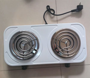 Electric Stove Double Hot Plate Electric Cooker pictures & photos