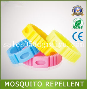 Mosquito Repellent Bracelet with Natual Oil Refill, Fashionable, Insect Free pictures & photos