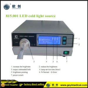 Endoscopic Equipment LED Cold Light Source Endoscope pictures & photos
