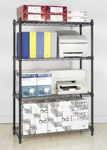Heavy Duty Chrome Plated Commercial Wire Shelving pictures & photos