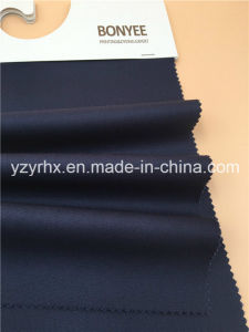 Finished Fabric Cotton / Polyester Fibre Twill Printed Dark Blue pictures & photos