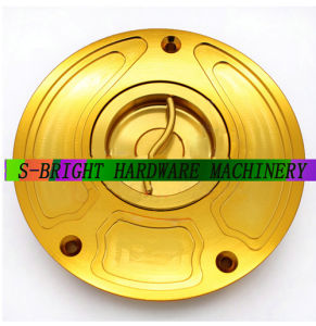 CNC Part Billet Keyless Light Weight Fuel Gas Tank Cap for Motorcycle Motorbike/Modified Motorcycle pictures & photos