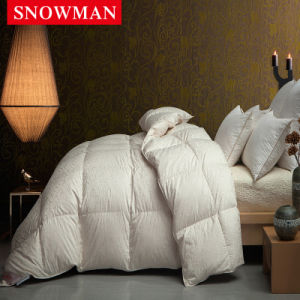 Luxury Silk Cover White Goose Down Quilt for Children pictures & photos