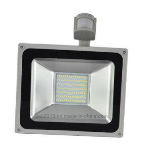 100W PIR Motion Sensor SMD LED Floodlight Outdoor Waterproof Flood Spot Light pictures & photos