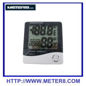 HTC-1 Digital Mini Hydrometer Humidity Meter pictures & photos