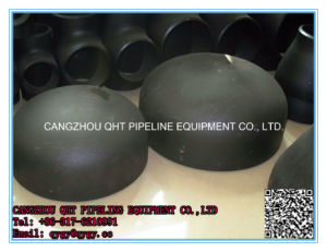 Alloy Steel Casting Caps in Heat Treatment pictures & photos