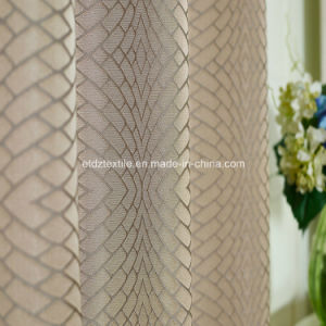 2016 Polyester Twisted Yarn Curtain Fabric pictures & photos